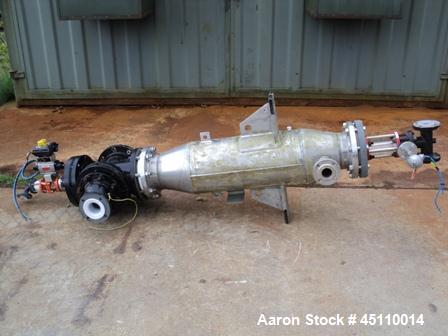 Used: Alfa Laval Stainless Steel  Spiral Heat Exchanger