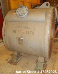 Used- Alfa Laval Titanium Spiral Heat Exchanger, Model 1H-L-1T.