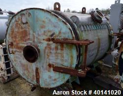 Used- Stainless Steel American Heat Reclaiming Horizontal Spiral Heat Exchanger,