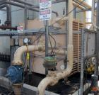Used-DDI Heat Exchanger (Slurry Cooler), Rectangular Square Cube. Carbon steel.  Rated. 600 PSI