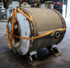 Used- Alfa Laval Thermal Horizontal Spiral Heat Exchanger, Model 1H