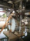 USED: Alfa Laval spiral heat exchanger, 750 square feet, 304Lstainless steel.