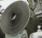 Used- Stainless Steel American Heat Reclaiming Horizontal Spiral Heat Exchanger, Type 1H