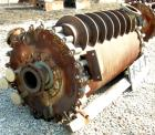 Used- American Heat Reclaiming Vertical Spiral Heat Exchanger, Model 1-VC. 570 square feet, carbon steel. Hot and cold side ...