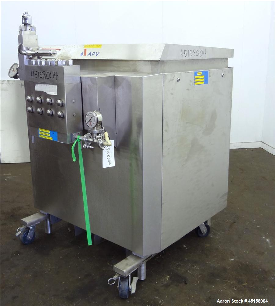 Used- Stainless Steel APV 15 Homogenizer, Model 16.56