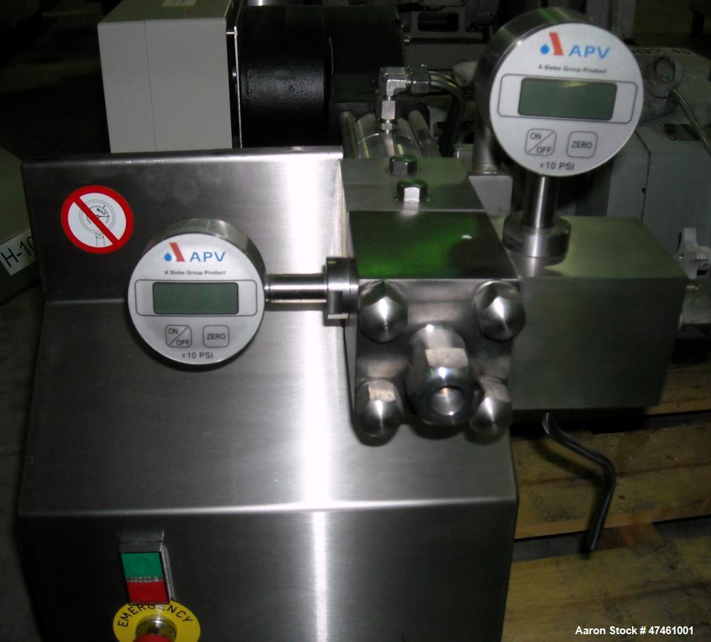 Used- APV Lab Homogenizer, Model APV 1000.