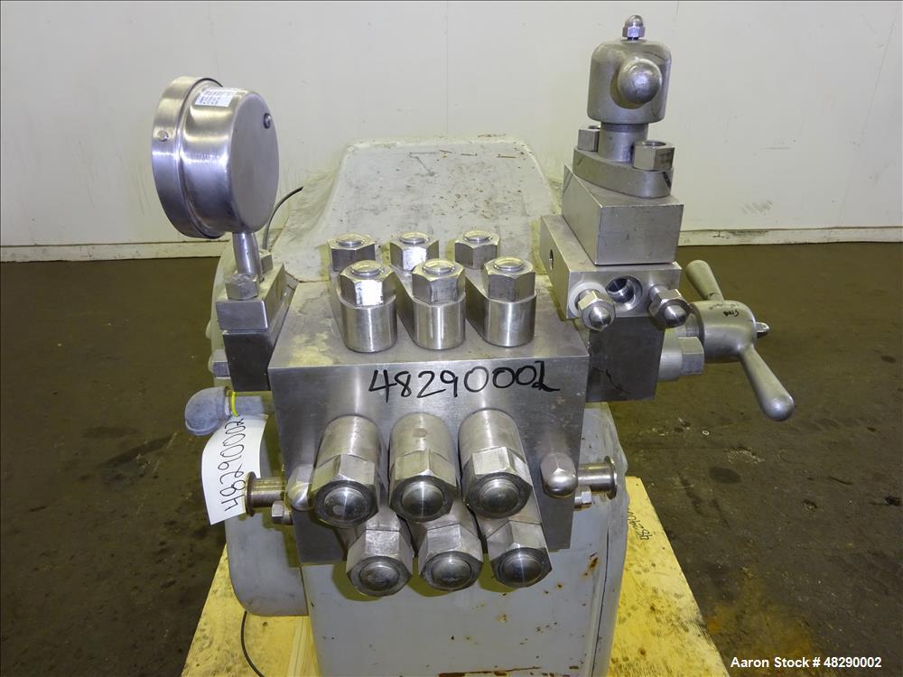 Used- APV Gaulin Model 30-M3-8TBS Homogenizer.