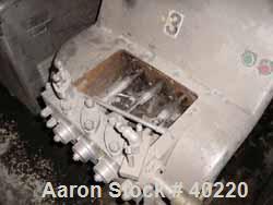 Used- Cherry Burrell Homogenizer, Model SS2100VBR, Stainless Steel. Capacity 450 gallons per hour. Single stage homogenizing...