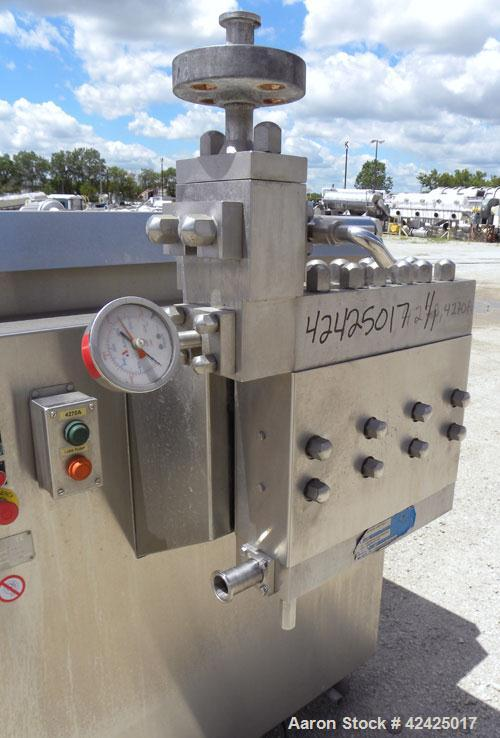 Used- APV Rannie 37 Homogenizer, Model P30.81