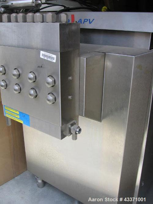 Used-APV Homogenizer, Model R12.56VH