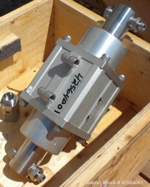 Used- Stainless Steel Avestin High Pressure Homogenizer, Model Emulsiflex-C50