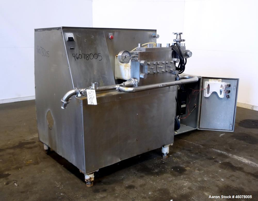 Used- Cherry Burrell Superhomo Homogenizer, Model SS-5000-TGR.