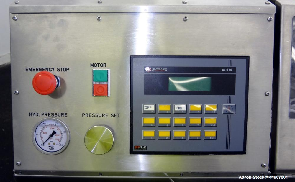 Used- B.E.E. International Ultra High-Pressure Homogenizer, Model DeBEE2000