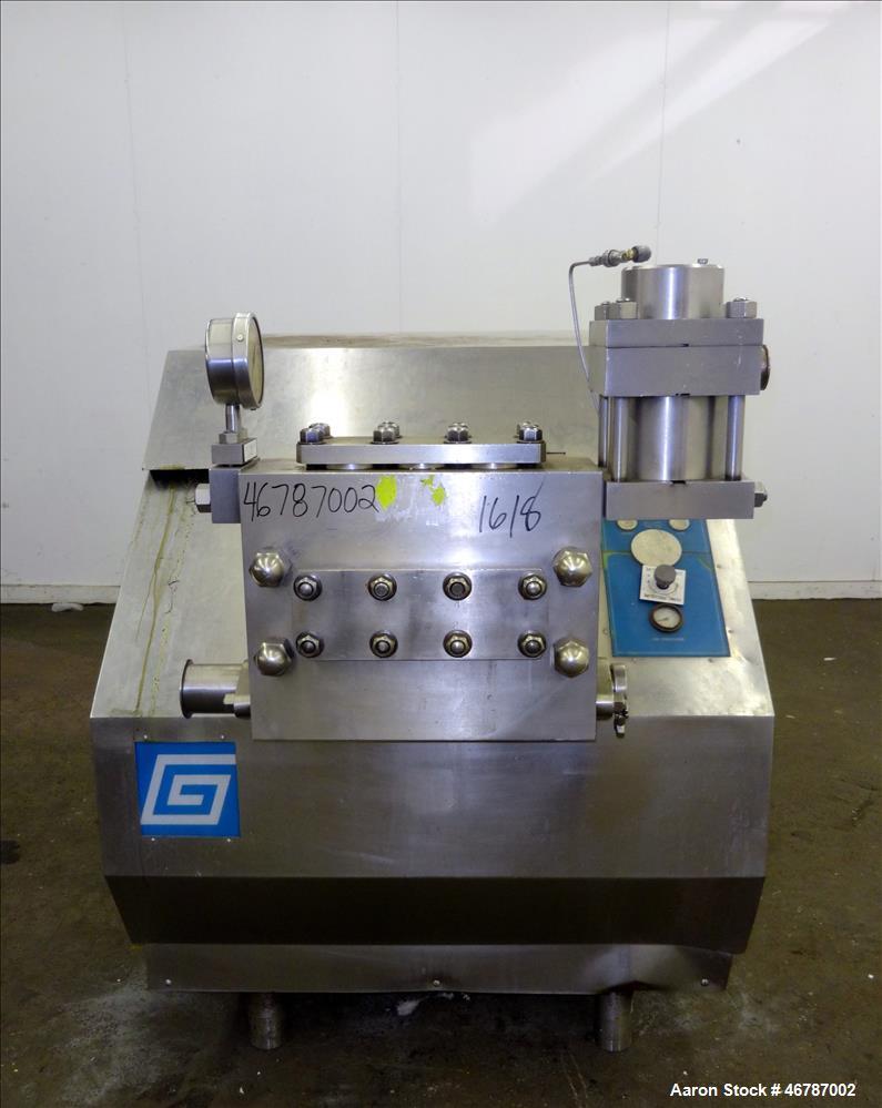 Used- Gaulin Homogenizer, Model 1800803 1:5TPN, 316 Stainless Steel