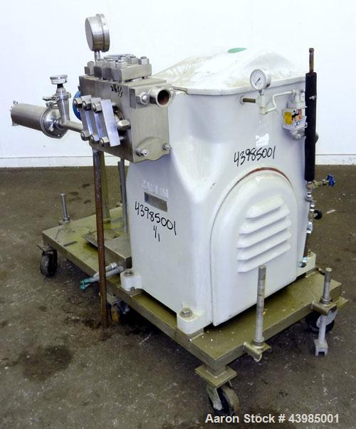 Used- Stainless Steel Gaulin High Capacity Pump, Model 480 HCP3-1TPN