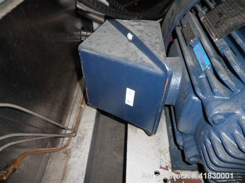 Used- APV Gaulin Homogenizer, Model 581GPH G55-8B. Rated 8000 PSI, 581 gallons per hour. XP construction and motor, with bal...