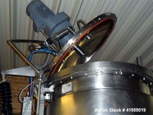 Used- Koruma Disho V170/1300 Homogenizer. Usable for food, cremes, gels. Set size up to 1100 liter. Double jacketed, 87 psi ...