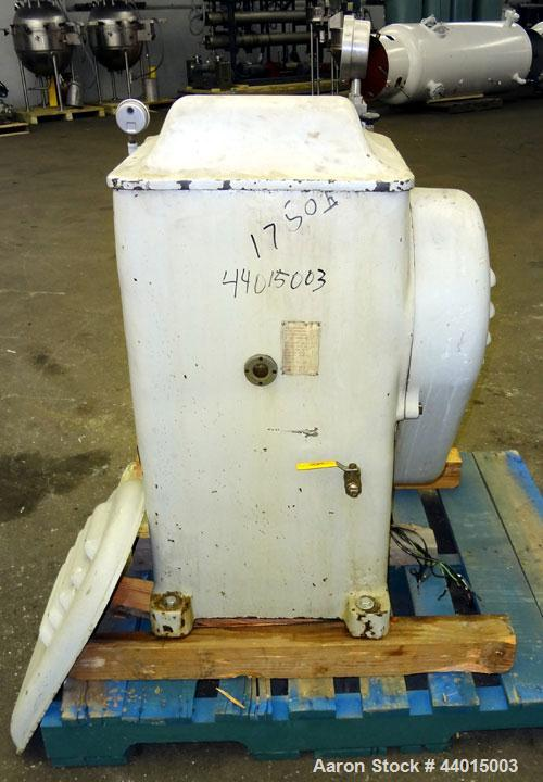 Used- Manton-Gaulin Sub-Micron Disperser Homogenizer, Type 125KL3-5BS, 304 Stainless Steel.  Capacity 125 gallons per hour, ...
