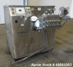 Used- Cherry-Burrell/Waukesha Homogenizer, Model 1000, 316 Stainless Steel.