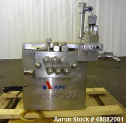 Used- APV Model LAB100-6TBSX Homogenizer