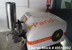 Used- GEA Niro Soavi, Panda Plus 2000 Bench Top Homogenizer, Rated 200 MPa. Stainless steel. Year. 2012.