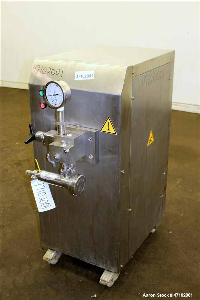 Used- Niro Soavi Homogenizer, Type NS1002H, 304 Stainless Steel.