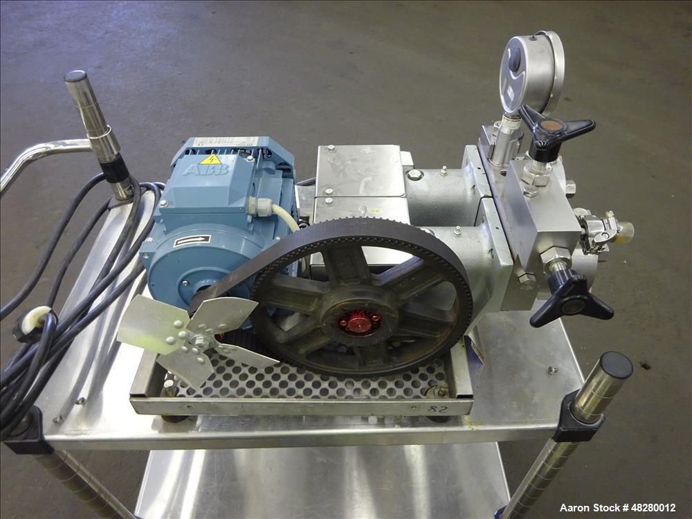 Used- GEA Niro Soavi Panda High Pressure Laboratory Homogenizer, Model NS2001H.