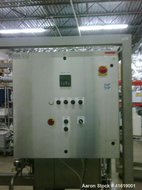 Used-Niro-Savi Homogenizer, model NS3006H, manufactured 2002. Max pressure (MPa) 100, rated flow (dm3/h) 120, for cGMP use. ...