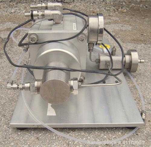 Used- Avestin High Pressure Homogenizer, Model Emulsiflex-C50, Stainless Steel. Air/gas driven, double acting high pressure ...
