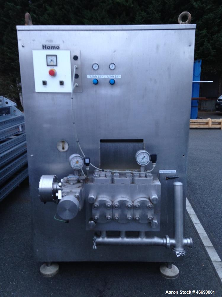 Used- Niro Soavi 304 Stainless Steel Homogenizer
