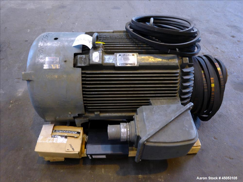 Used- Stainless Steel Rannie Homogenizer, Model 50.120H