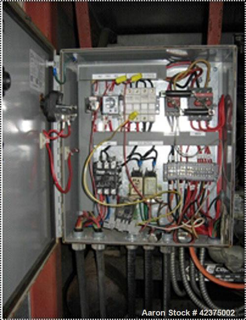 Used-A-1 Self-Contained Flake Ice Machine, model 26F-1000. Capacity 5 tons per day (10,000 pounds), stainless steel drum, re...