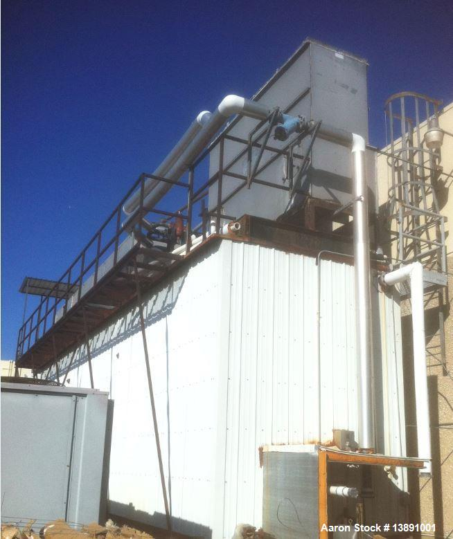 Used- Turbo Ice Builder with Storage Tank