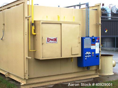 Used-Recuperative Thermal Oxidizer manufactured by EPCON Industrial Systems, 15,000 SCFM. Includes the following equipment:P...