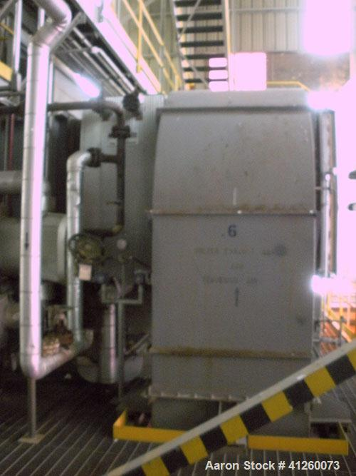 Used- Incinerator, Aecometric Corp. Burner rating 80.6 GJ/H, voltage 575/3/60, control voltage 120/1/60, natural gas 34.3 Mj...