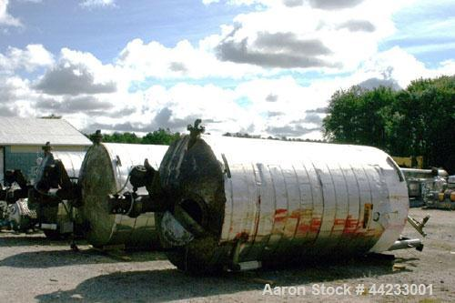 Used- 4000 Gallon Carbon Steel Kettle