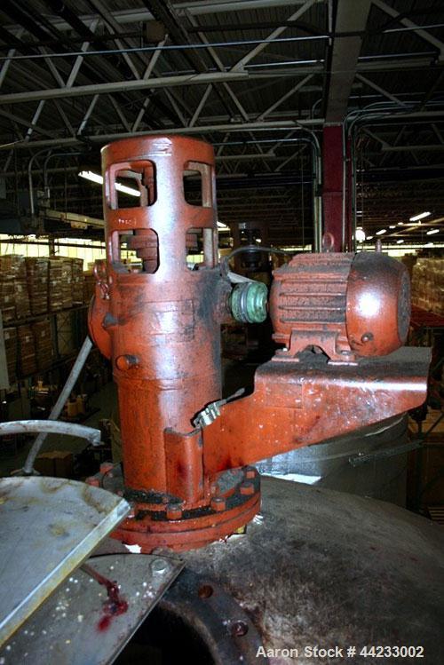 Used- 4000 Gallon Carbon Steel Kettle, Model 119-TEC-1.52