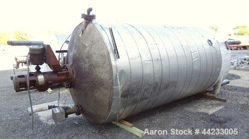 Used- 4000 Gallon Carbon Steel Kettle, Model 119-TEC-1.52