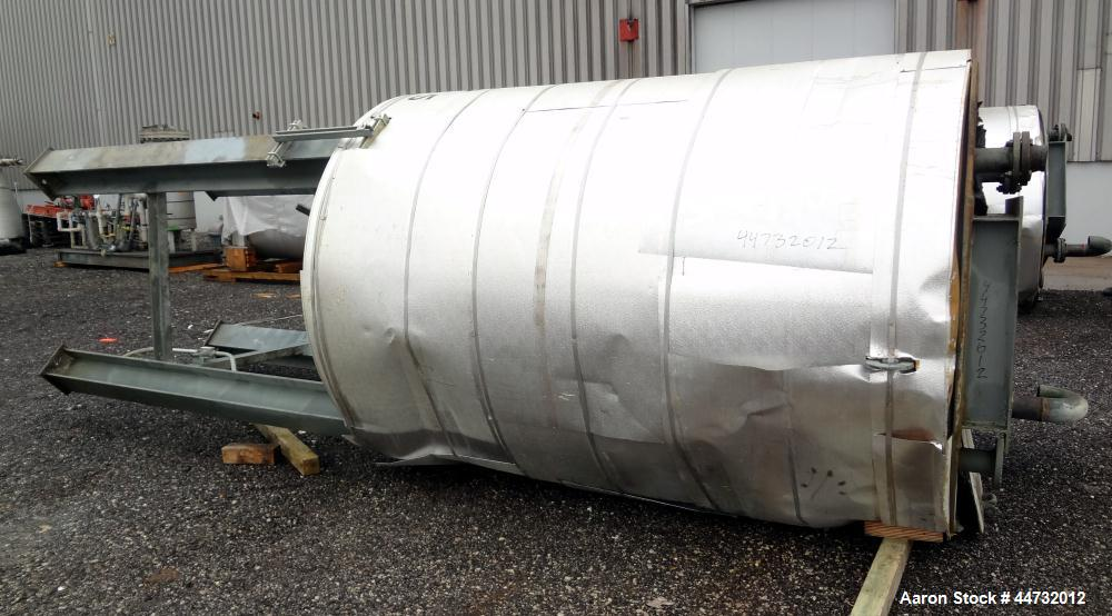 Used- 1600 Gallon Carbon Steel Chicago Boiler Kettle