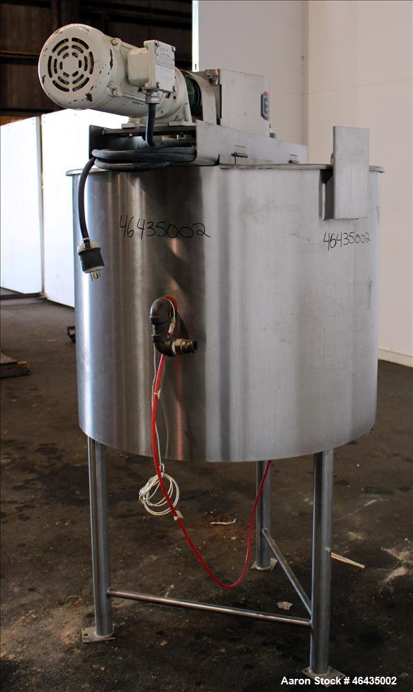 "Used- Lee Industries Double Motion Kettle, Model 100D9MS, 100 Gallon, 316L Stainless Steel, Vertical. Approximate 36"" diamet..."