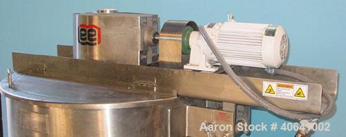 """Used- Lee Industries 100 gallon kettle,style D9MT.  Hemispherical bottom, open top kettle, 36"""" diameter X 30"""" deep. Atmosphe..."""