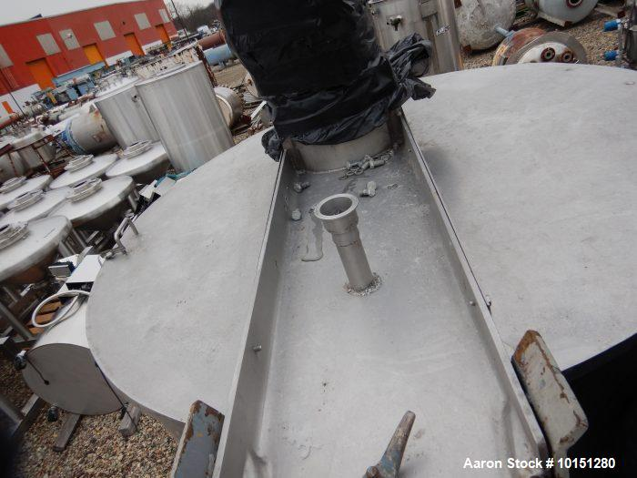 Used- Lee 500 Gallon 316 Stainless Steel Jacketed Kettle. Max. working pressure: 90 psi, Max. working temperature: 330F, Bri...