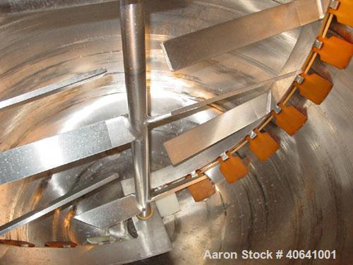 """Used- Lee Industries 300 gallon kettle, style D9MT.  Hemispherical bottom, open top kettle 54"""" diameter X 40"""" deep, atmosphe..."""