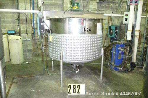 Used-Will-Flow tank, stainless steel. Serial #55167-1