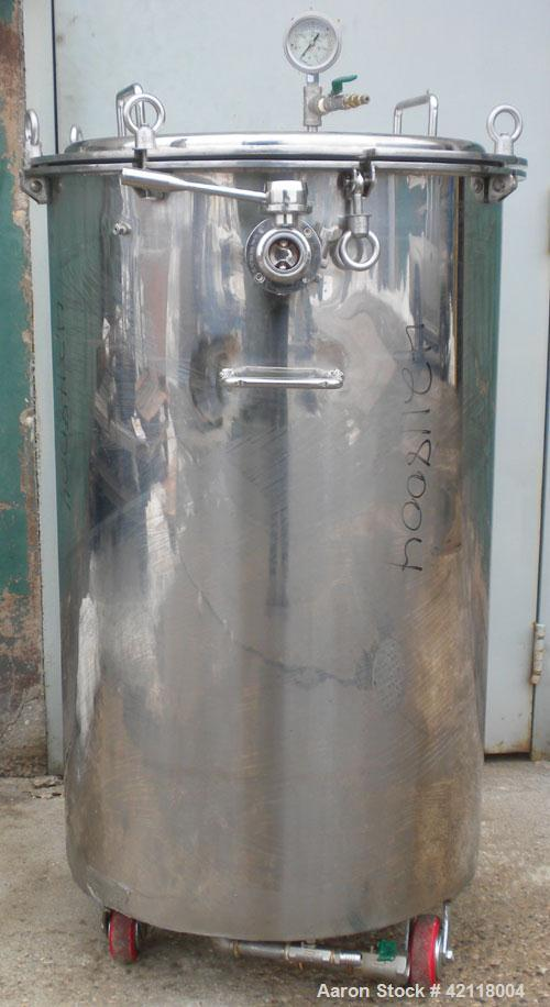 Used- Kettle, 50 Gallon, 304 Stainless Steel