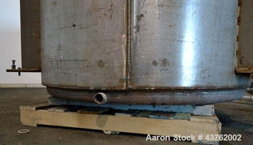 Used- 700 Gallon Stainless Steel Kettle
