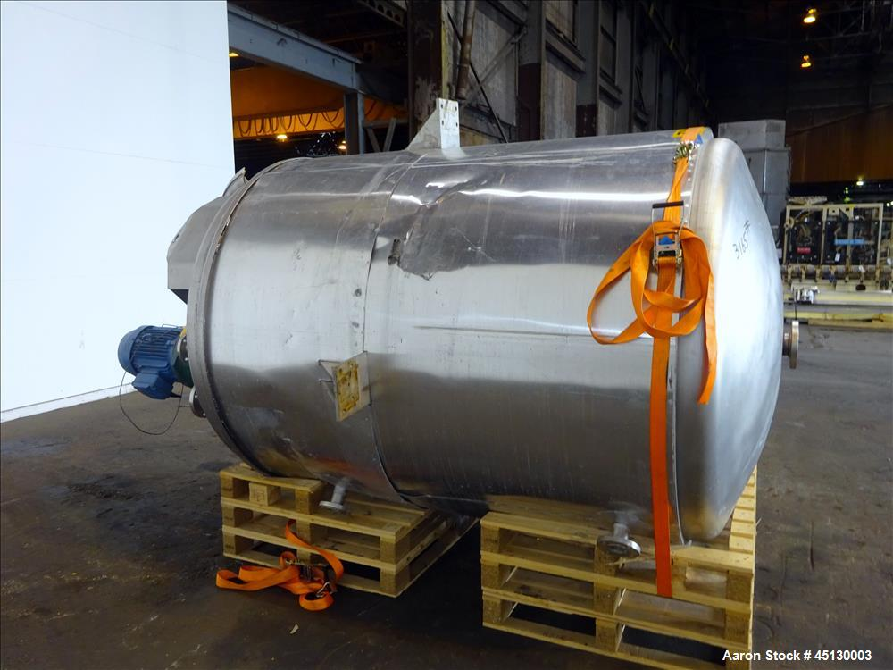 Used- G&S Stainless Services Processor Kettle, 1058 Gallon (4000 Liter), 316L St