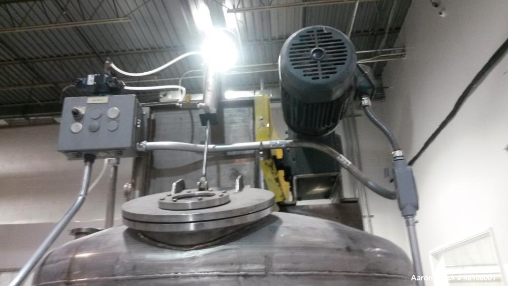 Used- Kettle, 400 Gallon, Stainless Steel