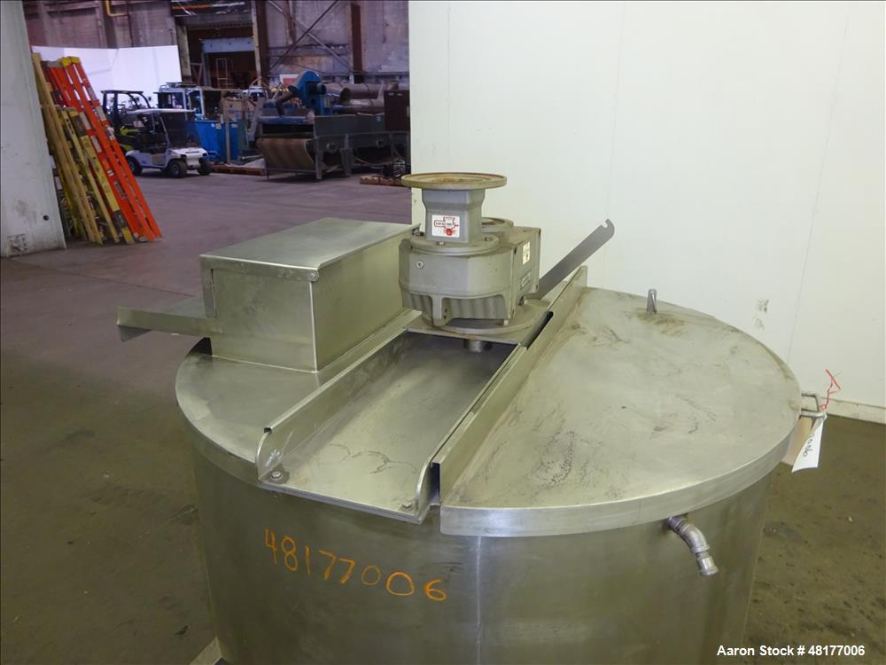 Used- Kettle, Approximate 350 Gallon, 304 Stainless Steel, Vertical
