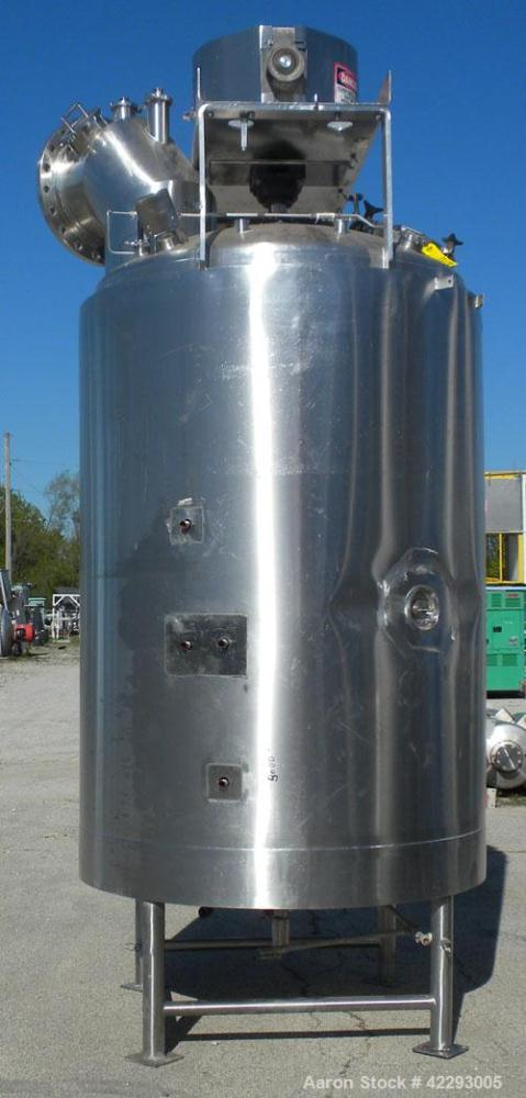 Used- 850 Gallon Stainless Steel Lee Industries Double Motion Vacuum Kettle, Mod